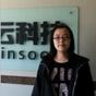 华北电力大学美女经过达内培训后成为web工程师